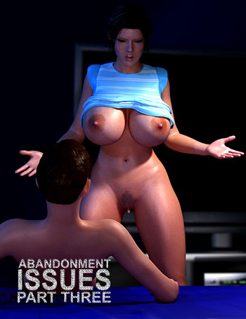 "Porn comic ""Abandonment Issues 3"""
