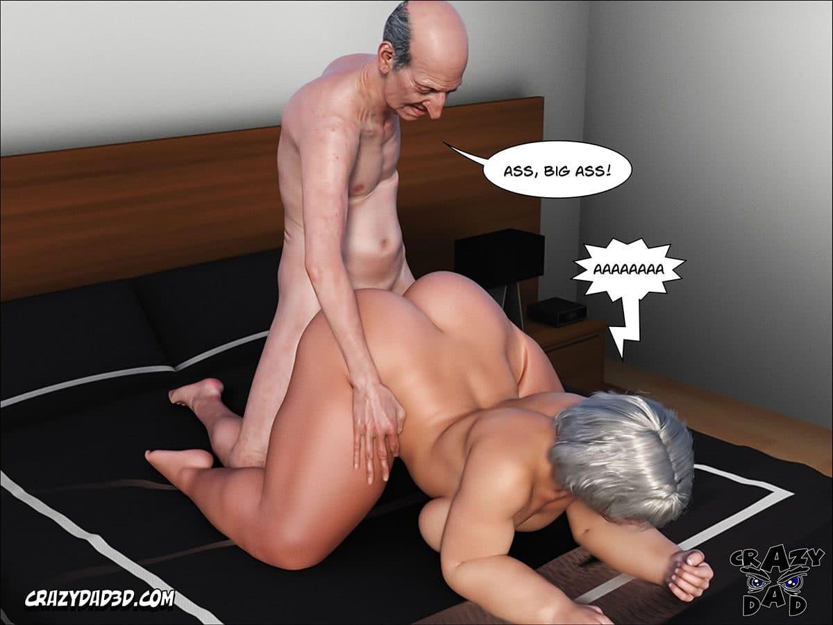 "Porn comic ""Daddy. Crazy Desire"" - page 10"