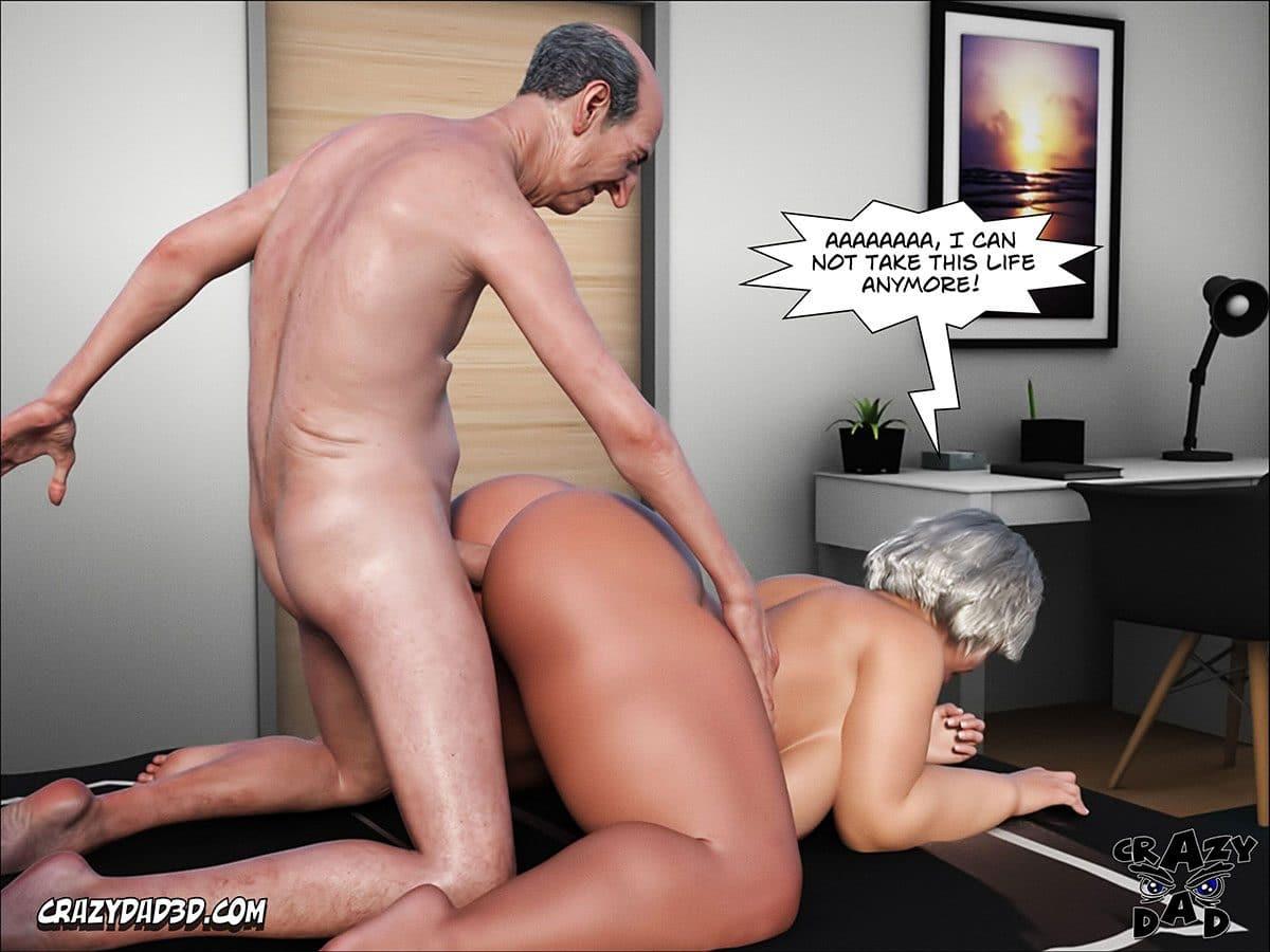 "Porn comic ""Daddy. Crazy Desire"" - page 11"