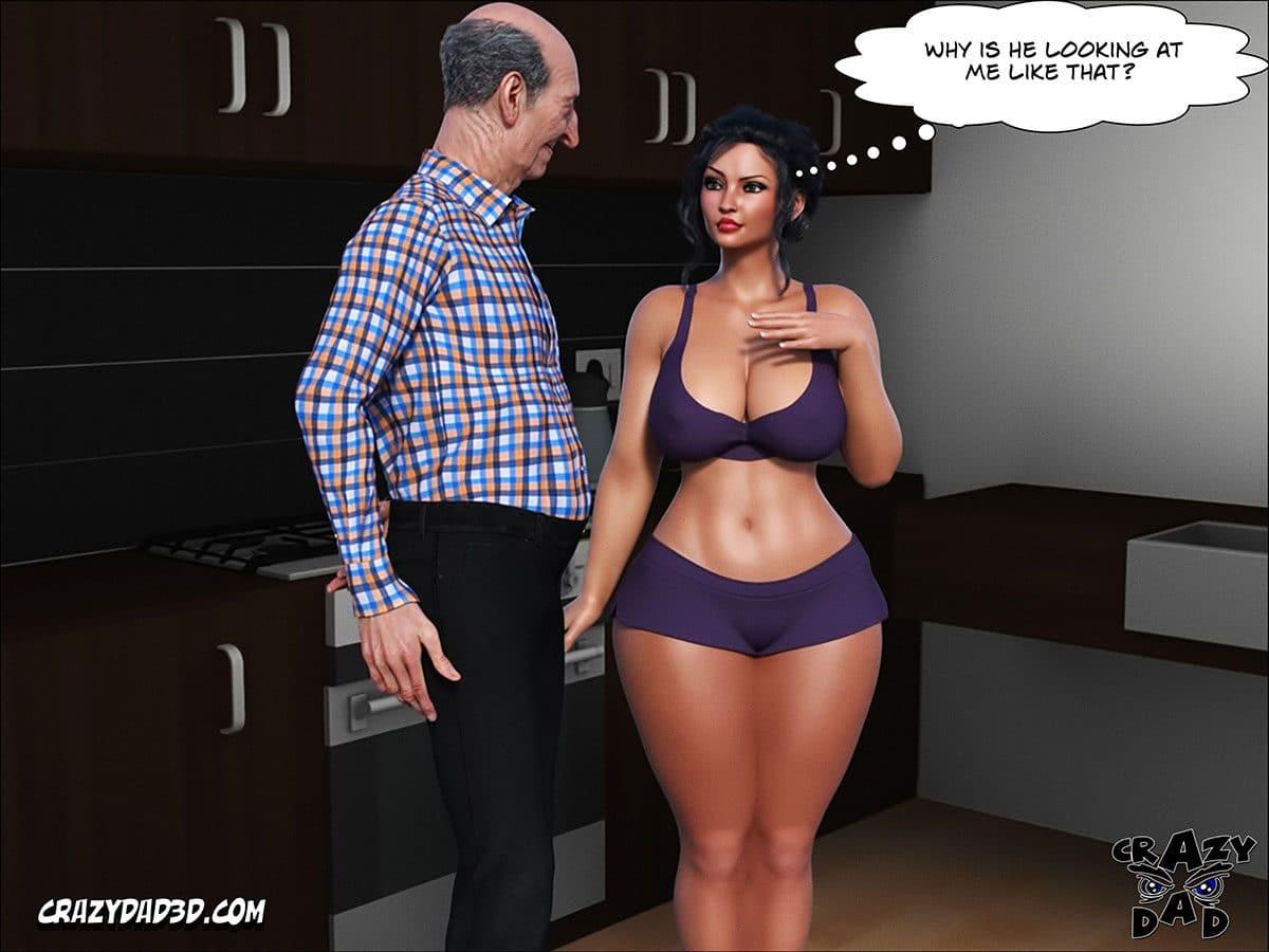 "Porn comic ""Daddy. Crazy Desire"" - page 19"