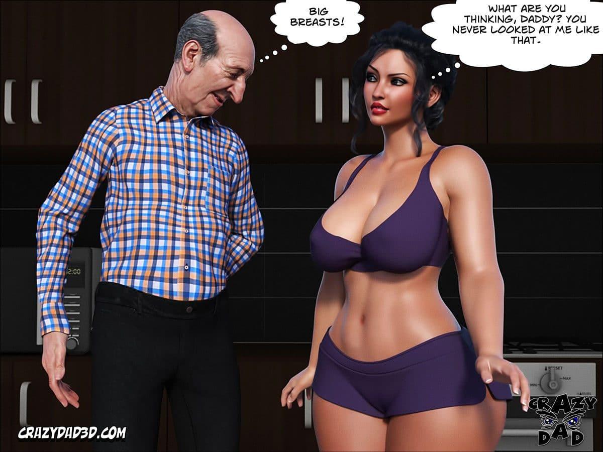 "Porn comic ""Daddy. Crazy Desire"" - page 20"