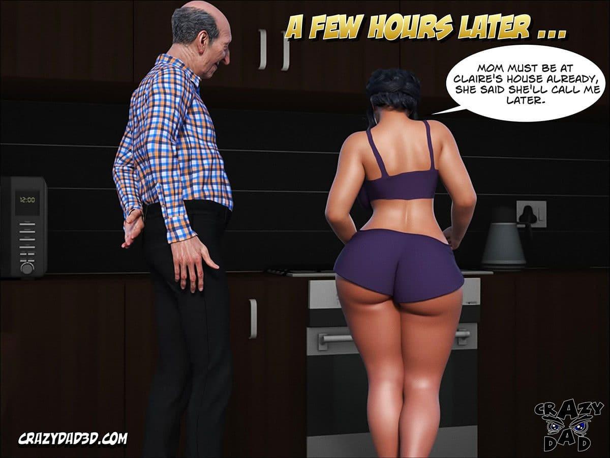 "Porn comic ""Daddy. Crazy Desire"" - page 21"