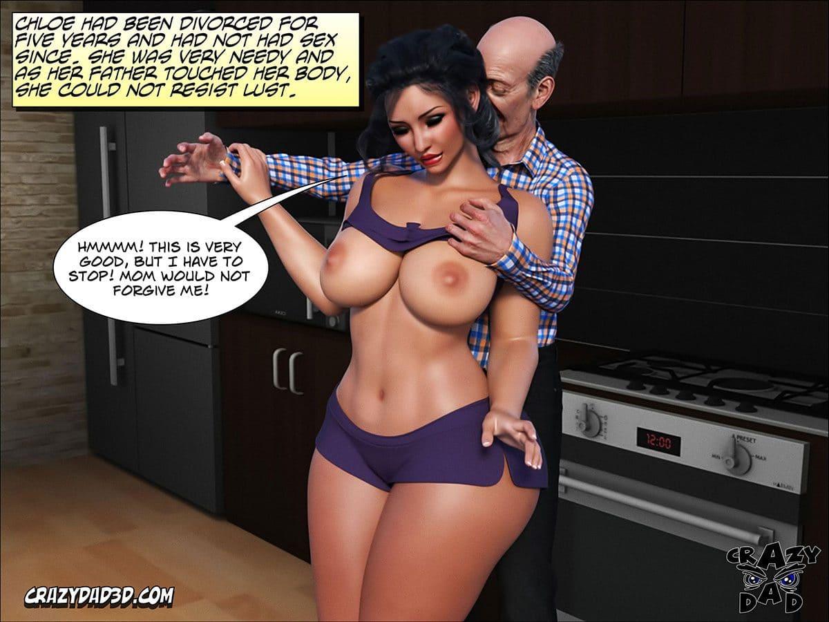 "Porn comic ""Daddy. Crazy Desire"" - page 31"