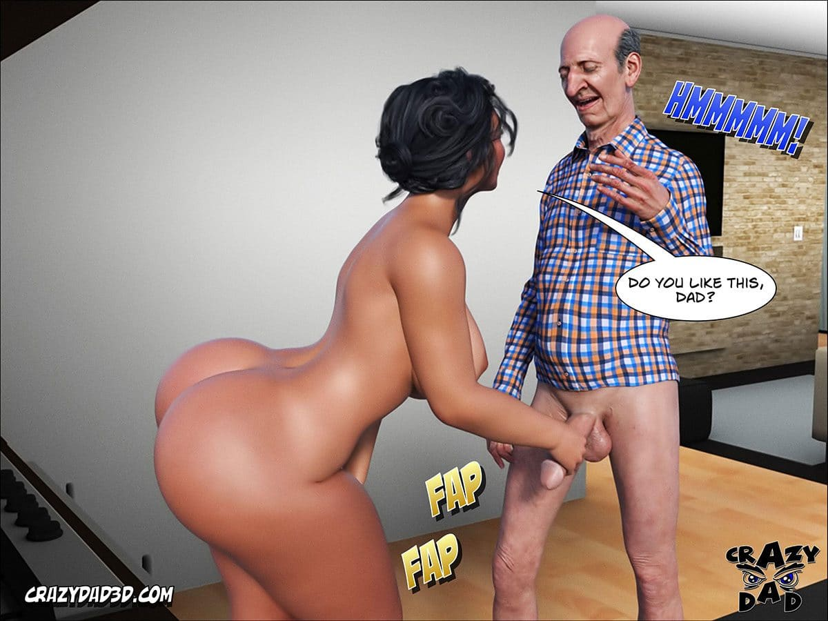 "Porn comic ""Daddy. Crazy Desire"" - page 54"