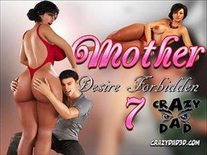 """Porn comic """"Mother. Desire Forbidden 7"""""""