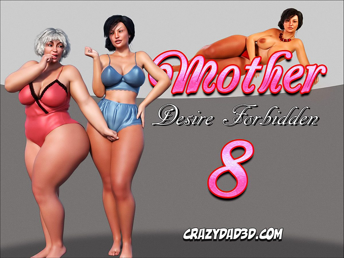 "CrazyDad comic ""Mother. Desire Forbidden 8"""