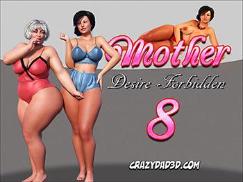 """Porn comic """"Mother. Desire Forbidden 8"""""""