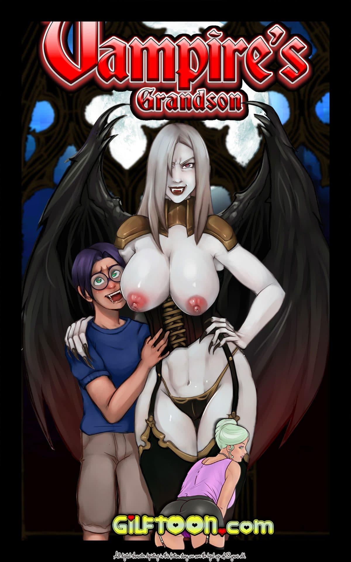 "Gilftoon comic ""Vampire's Grandson"""