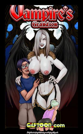 """Porn comic """"Vampire's Grandson"""""""