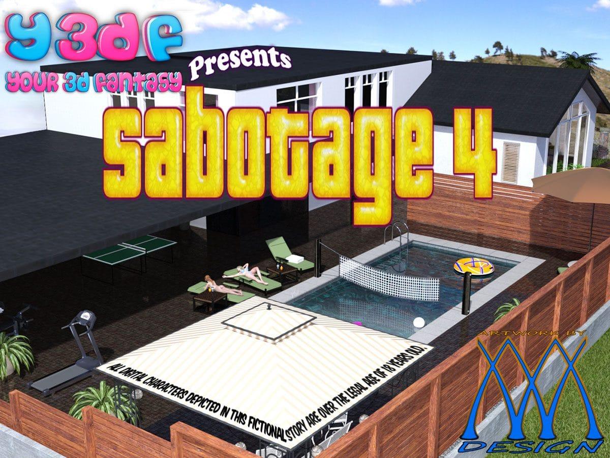 "Y3DF comic ""Sabotage 4"""