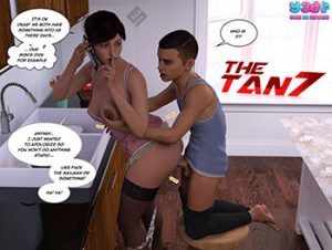 "Porn comic ""The Tan 7"""