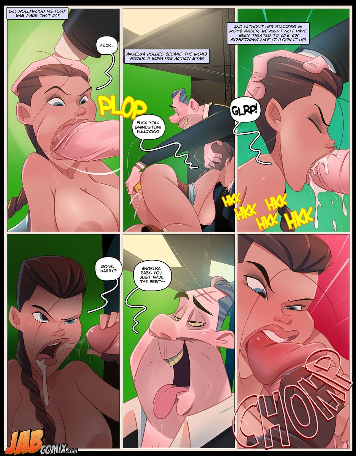"Jab comic ""Holli Would"" - page 11"