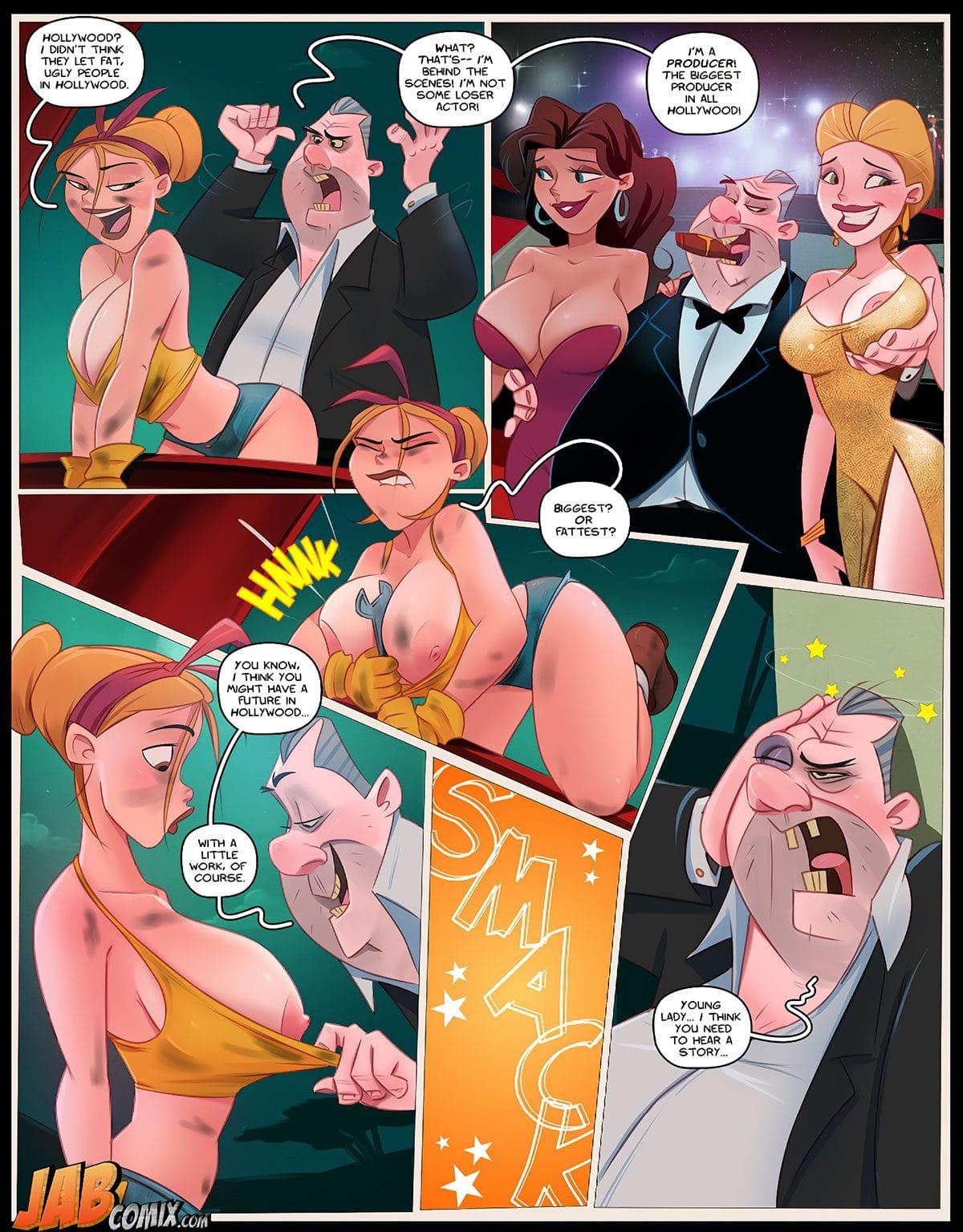 "Jab comic ""Holli Would"" - page 8"