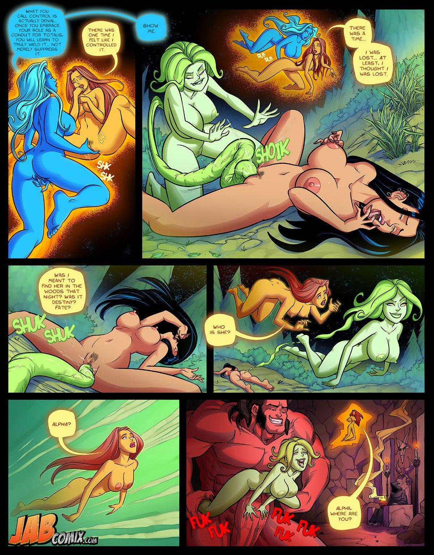 """Jab comic """"Omega Girl 6"""" - page 19"""
