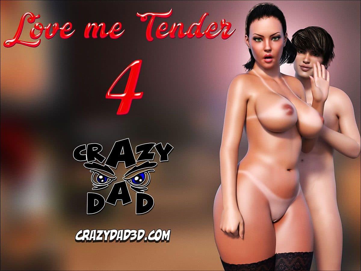 "CrazyDad comic ""Love me Tender 4"""