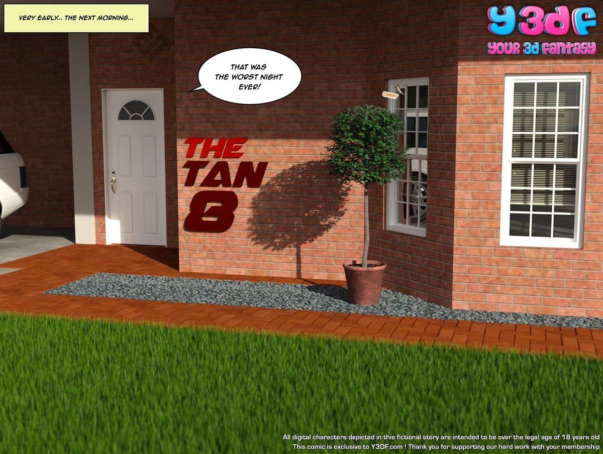 "Y3DF comic ""The Tan 8"" - page 1"