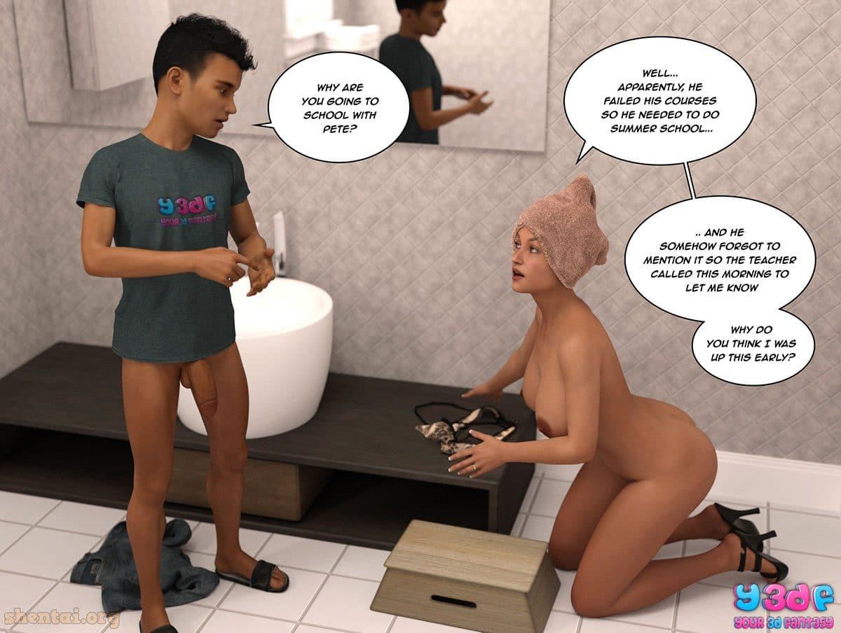 "Y3DF comic ""The Tan 8"" - page 20"