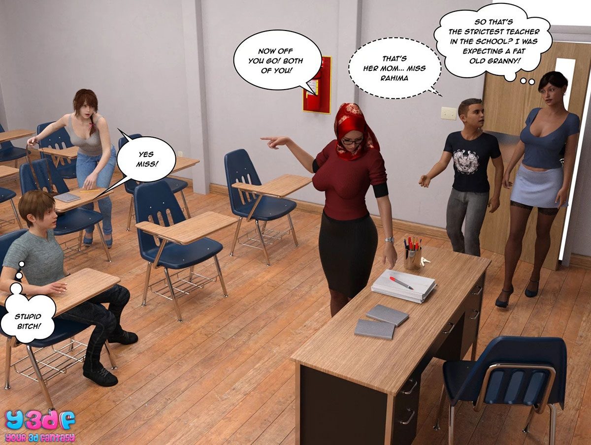 "Y3DF comic ""The Tan 8"" - page 25"