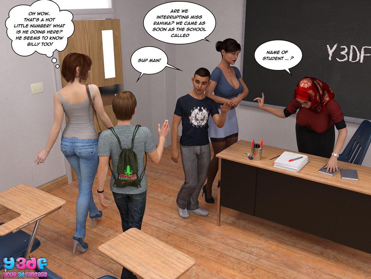 "Y3DF comic ""The Tan 8"" - page 26"