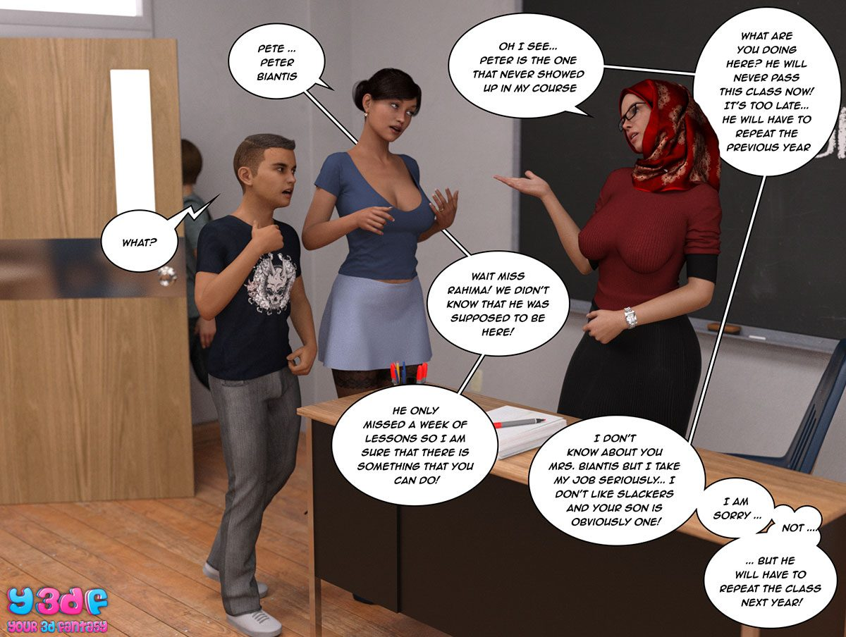 "Y3DF comic ""The Tan 8"" - page 27"