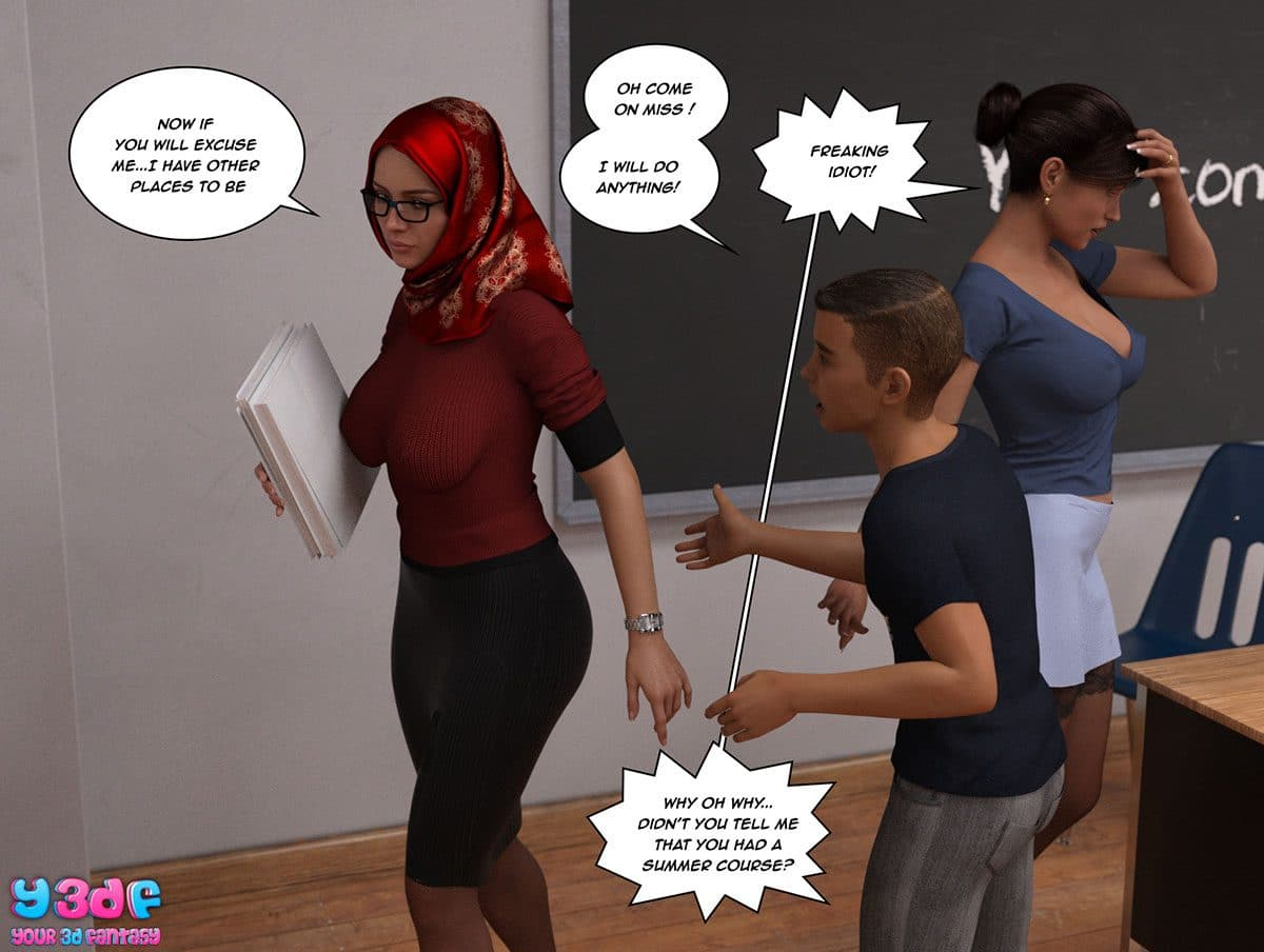 "Y3DF comic ""The Tan 8"" - page 28"
