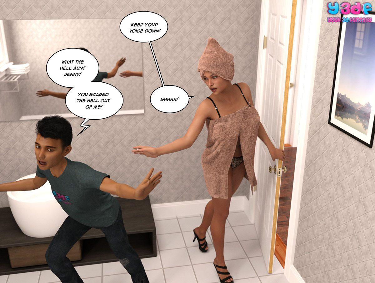"Y3DF comic ""The Tan 8"" - page 3"