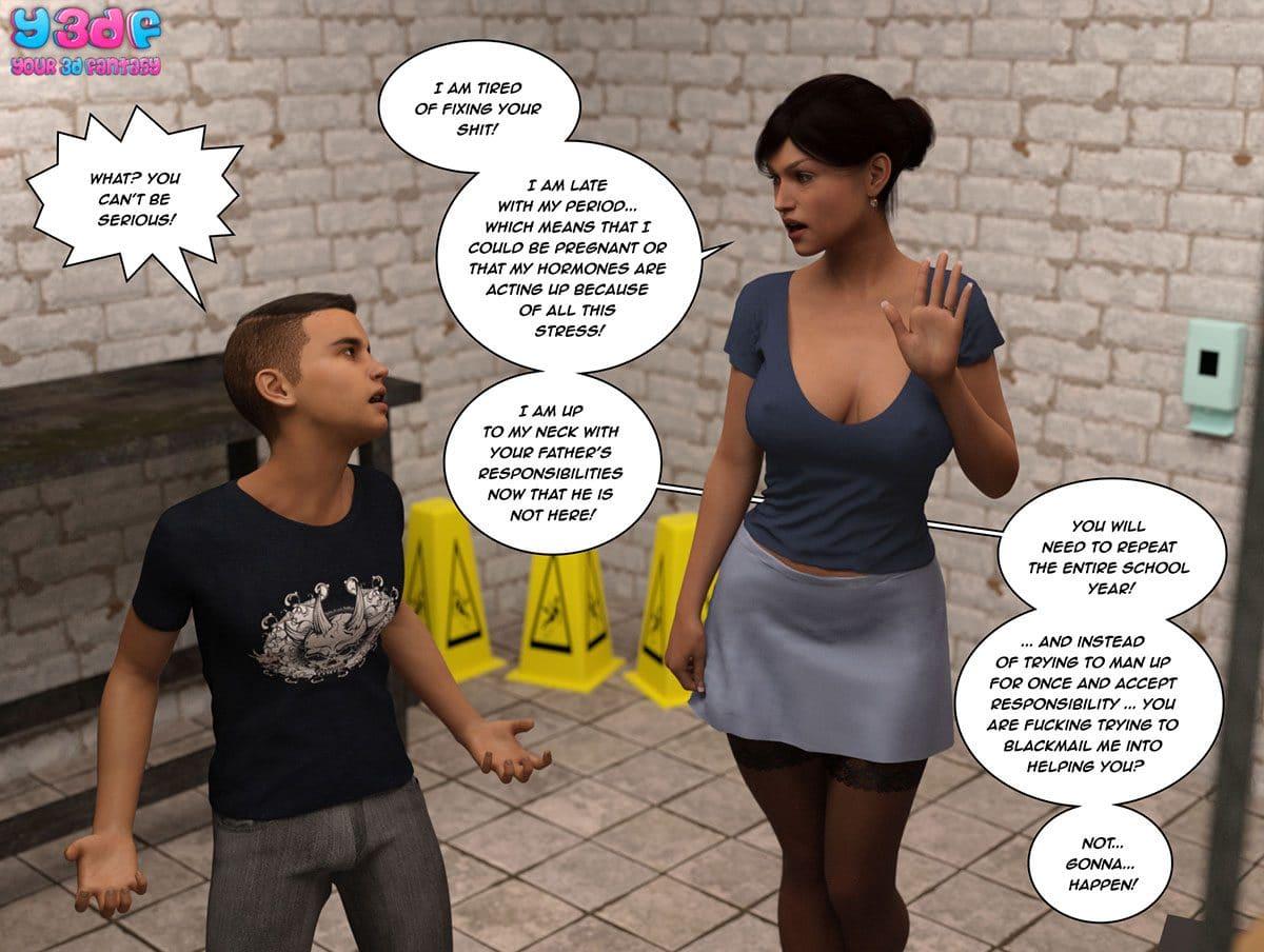 "Y3DF comic ""The Tan 8"" - page 35"