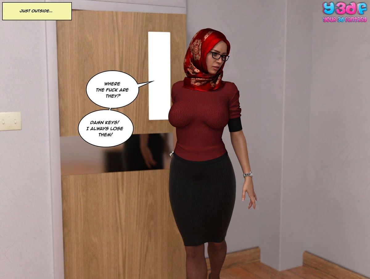 "Y3DF comic ""The Tan 8"" - page 41"
