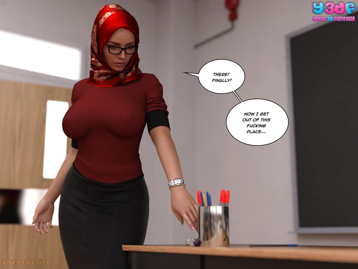 "Y3DF comic ""The Tan 8"" - page 42"