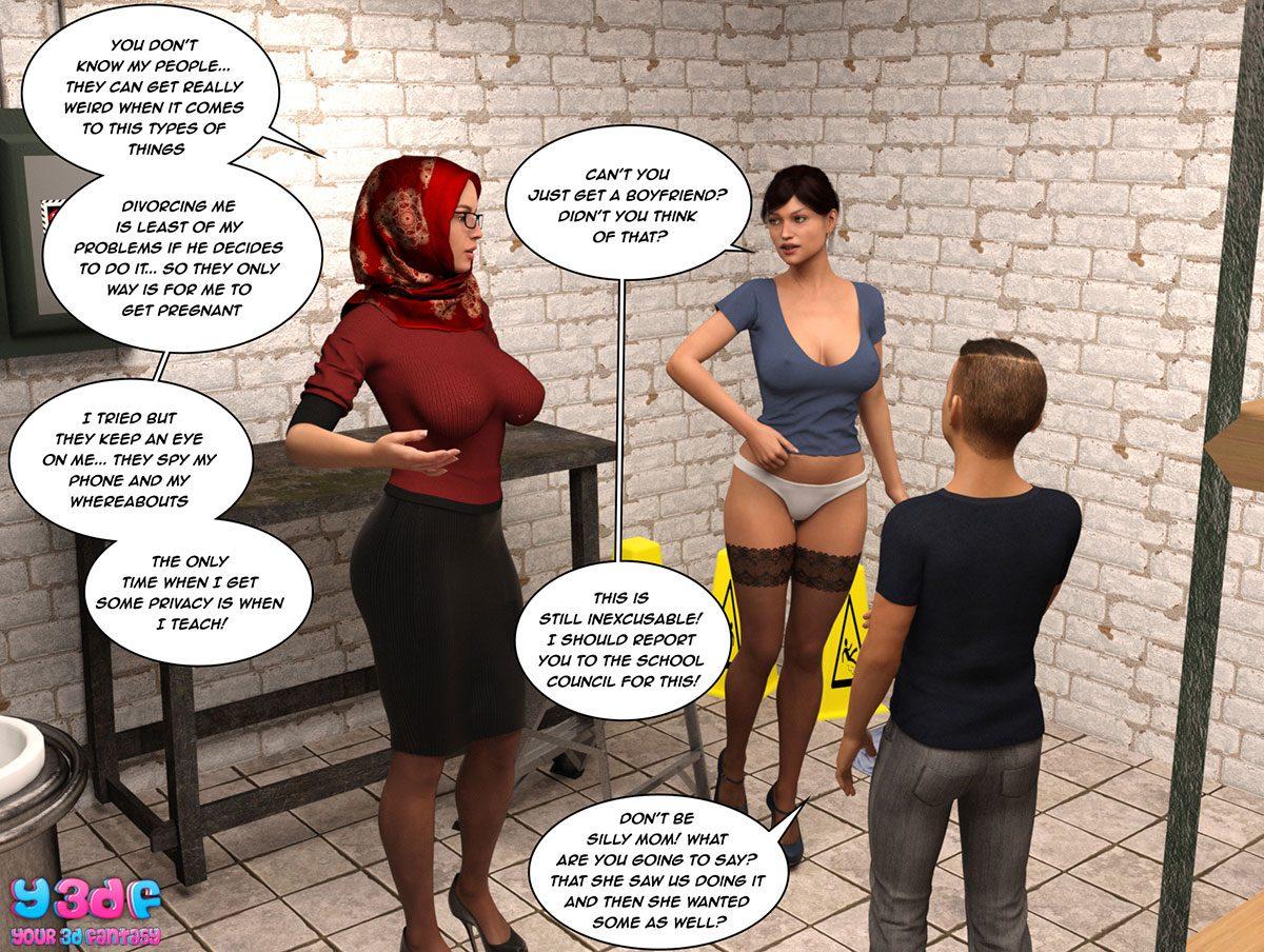 "Y3DF comic ""The Tan 8"" - page 68"