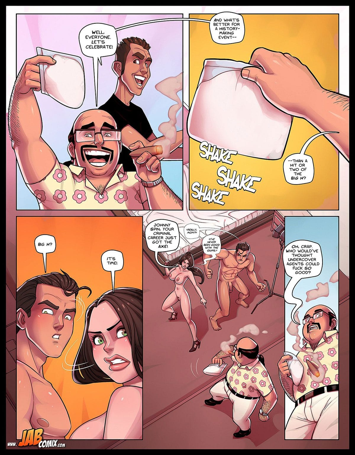 "Jab comic ""Spy Games"" - page 17"