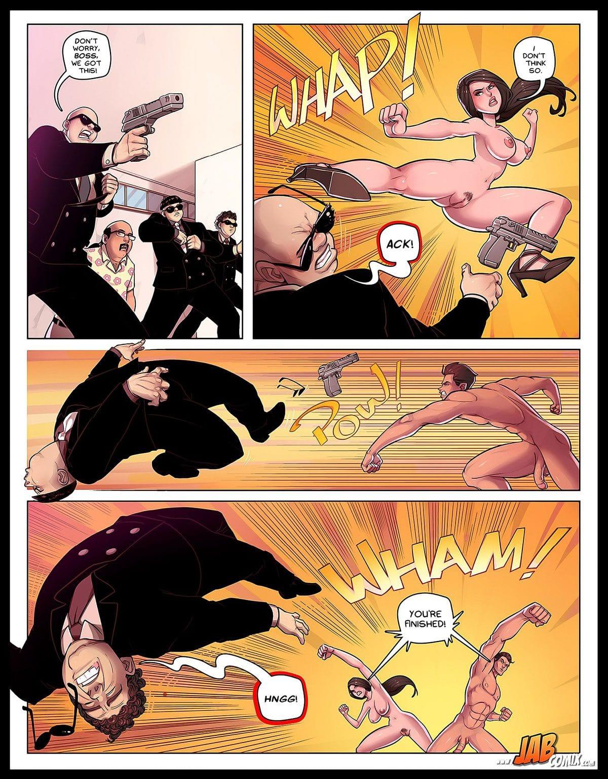 "Jab comic ""Spy Games"" - page 18"