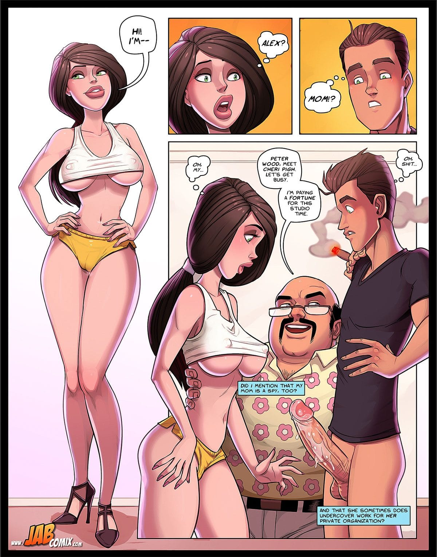 "Jab comic ""Spy Games"" - page 3"