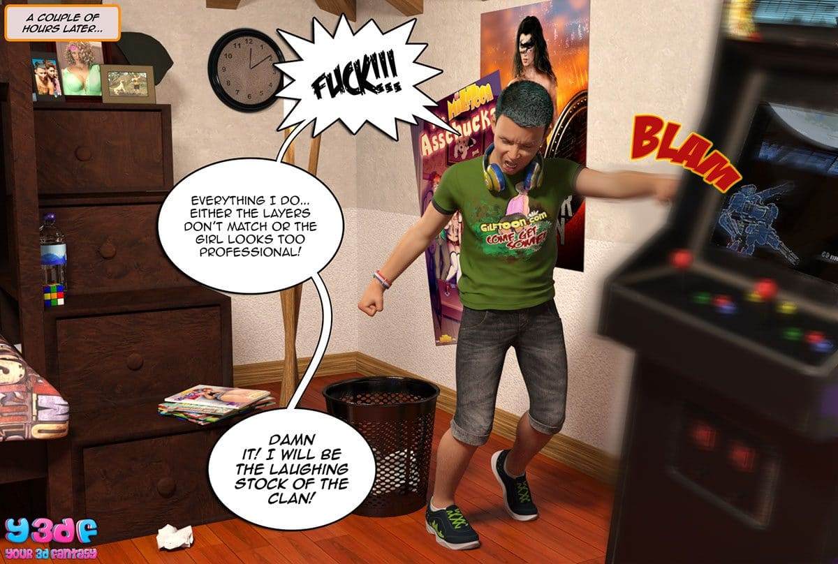 "Y3DF comic ""Prove Thy Self"" - page 18"