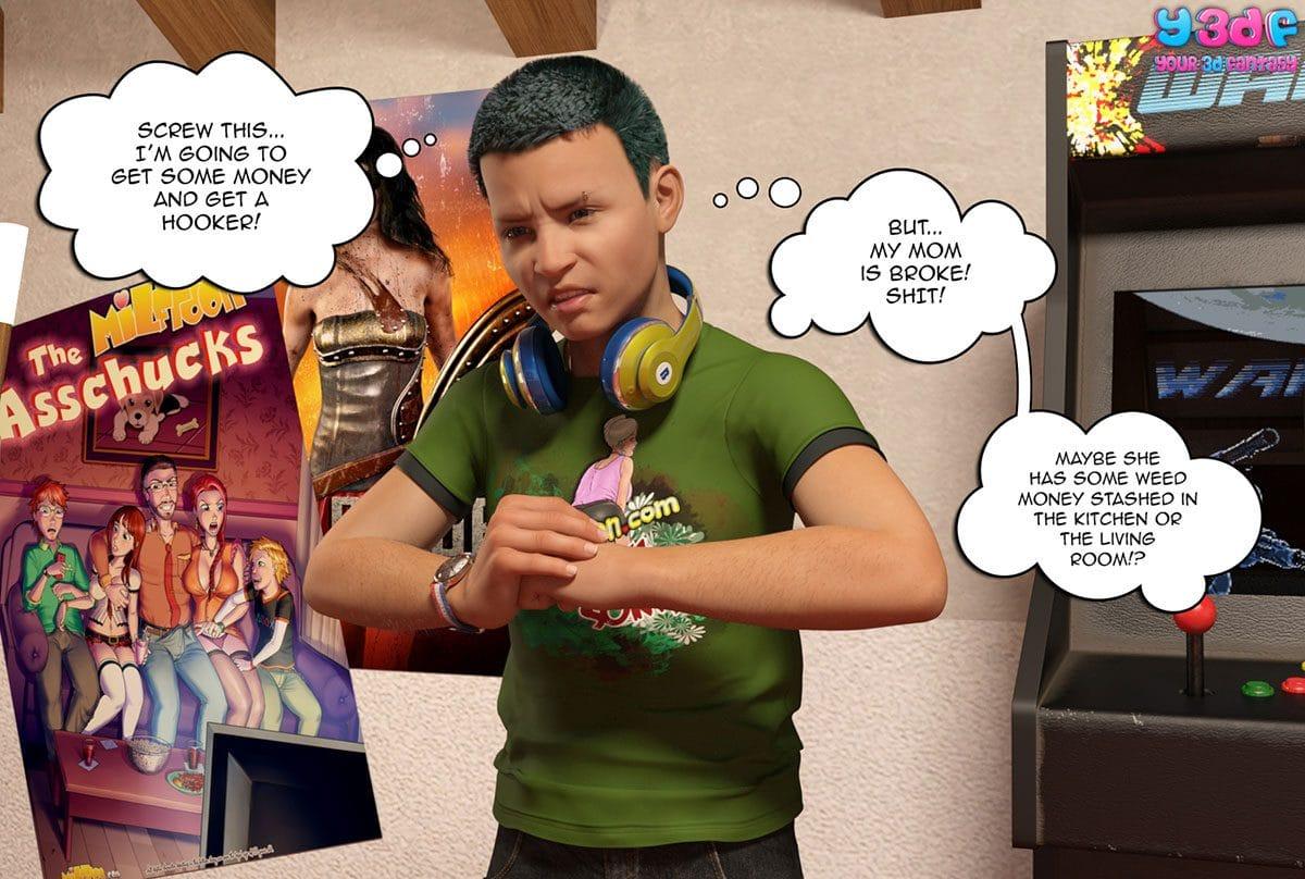 "Y3DF comic ""Prove Thy Self"" - page 19"
