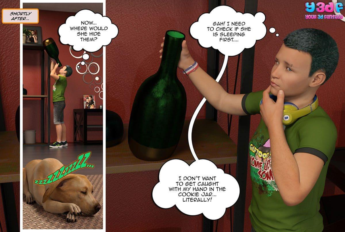 "Y3DF comic ""Prove Thy Self"" - page 20"