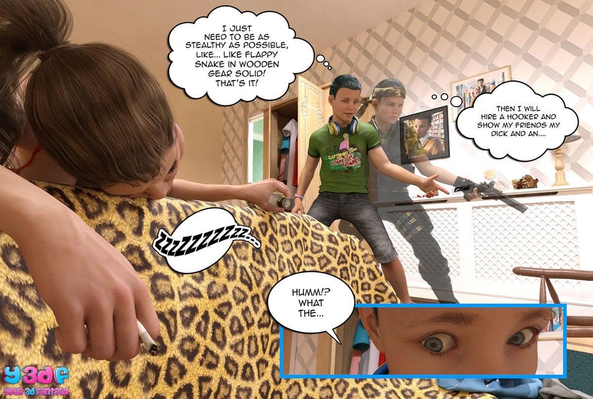 "Y3DF comic ""Prove Thy Self"" - page 24"
