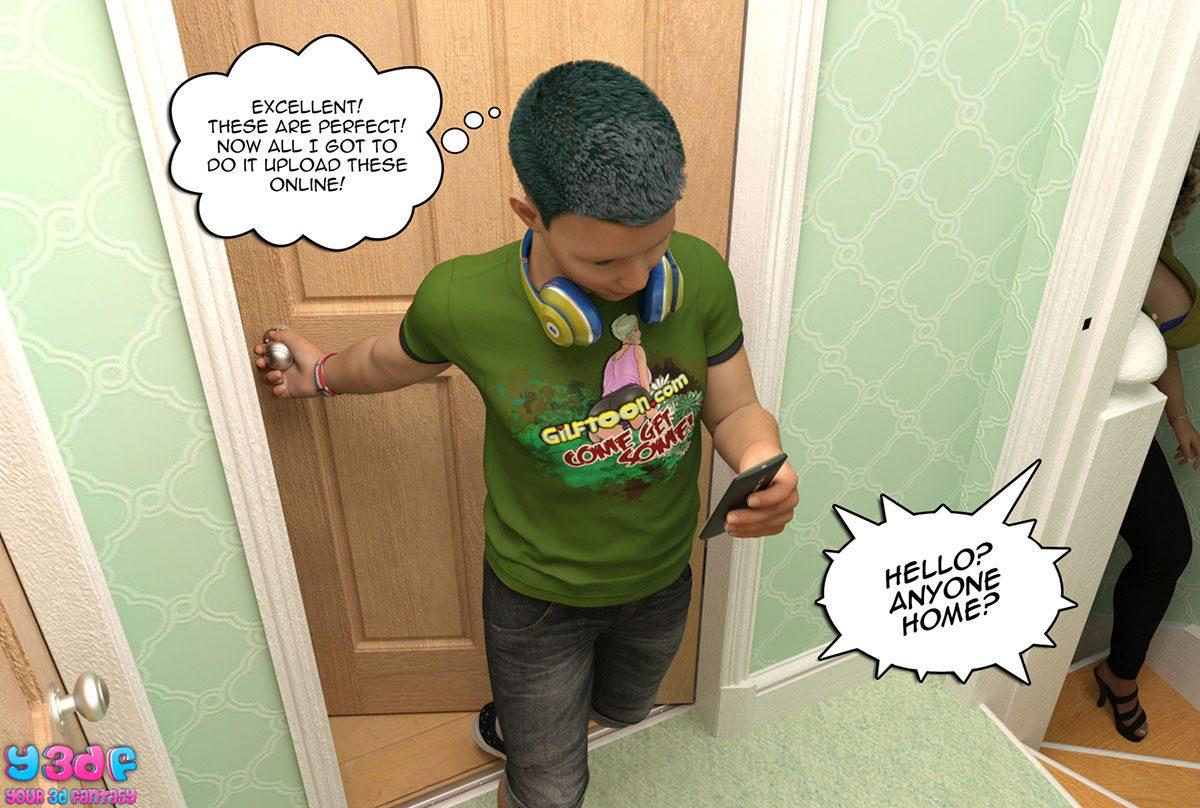 "Y3DF comic ""Prove Thy Self"" - page 34"