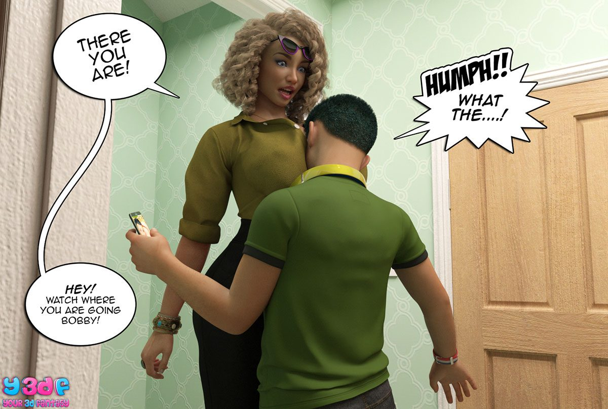 "Y3DF comic ""Prove Thy Self"" - page 35"