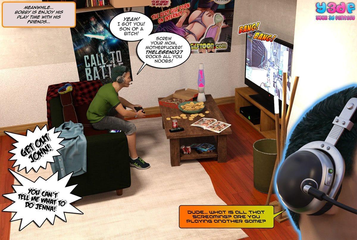 "Y3DF comic ""Prove Thy Self"" - page 4"