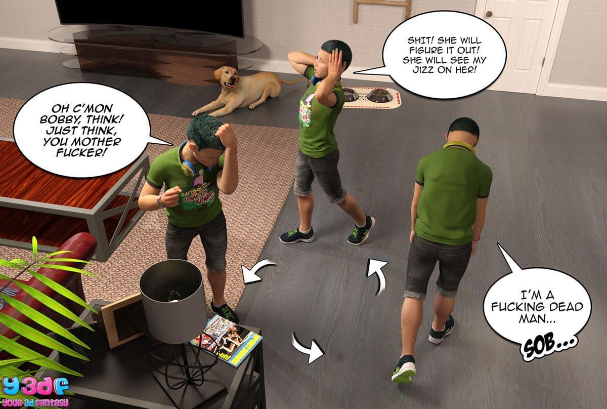 "Y3DF comic ""Prove Thy Self"" - page 41"