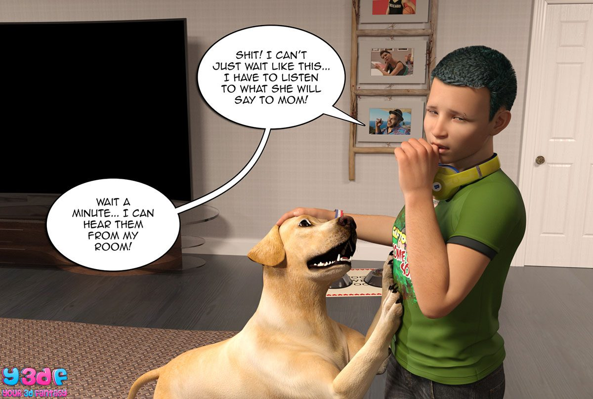 "Y3DF comic ""Prove Thy Self"" - page 42"