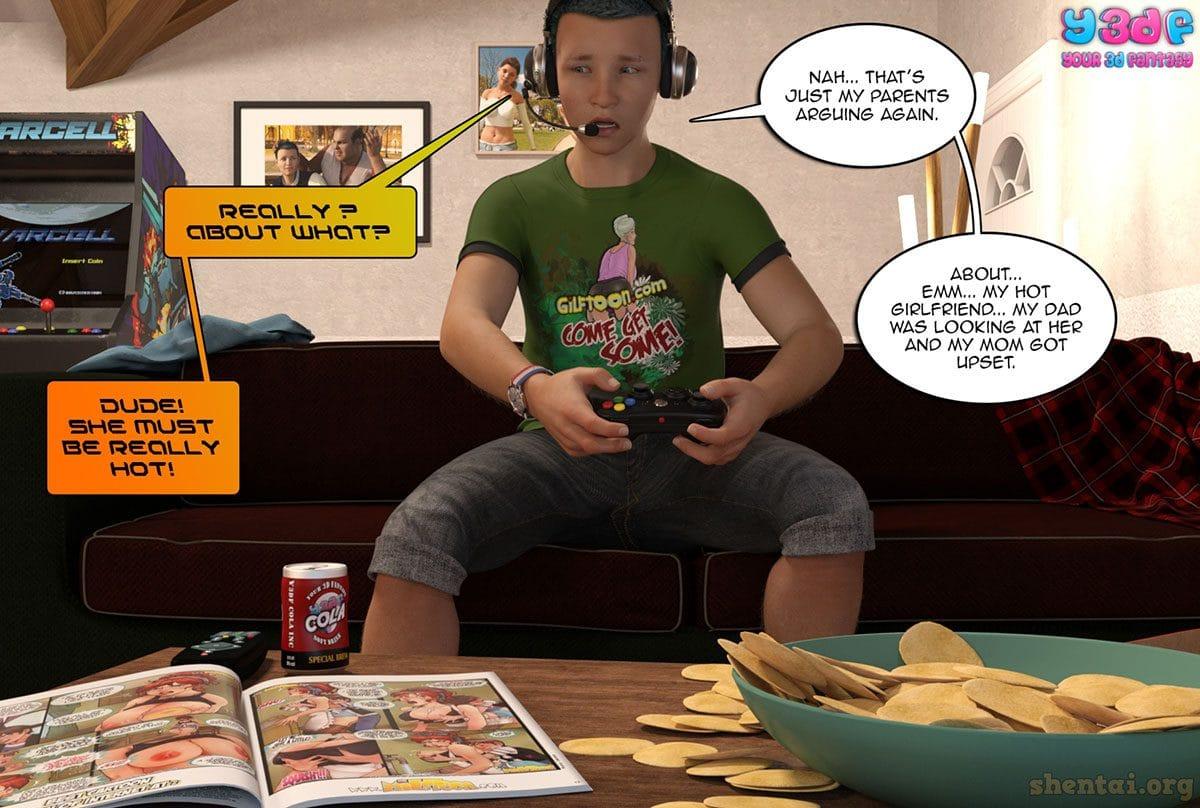 "Y3DF comic ""Prove Thy Self"" - page 5"