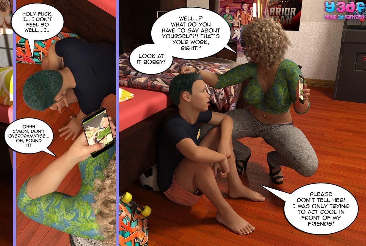 "Y3DF comic ""Prove Thy Self"" - page 52"