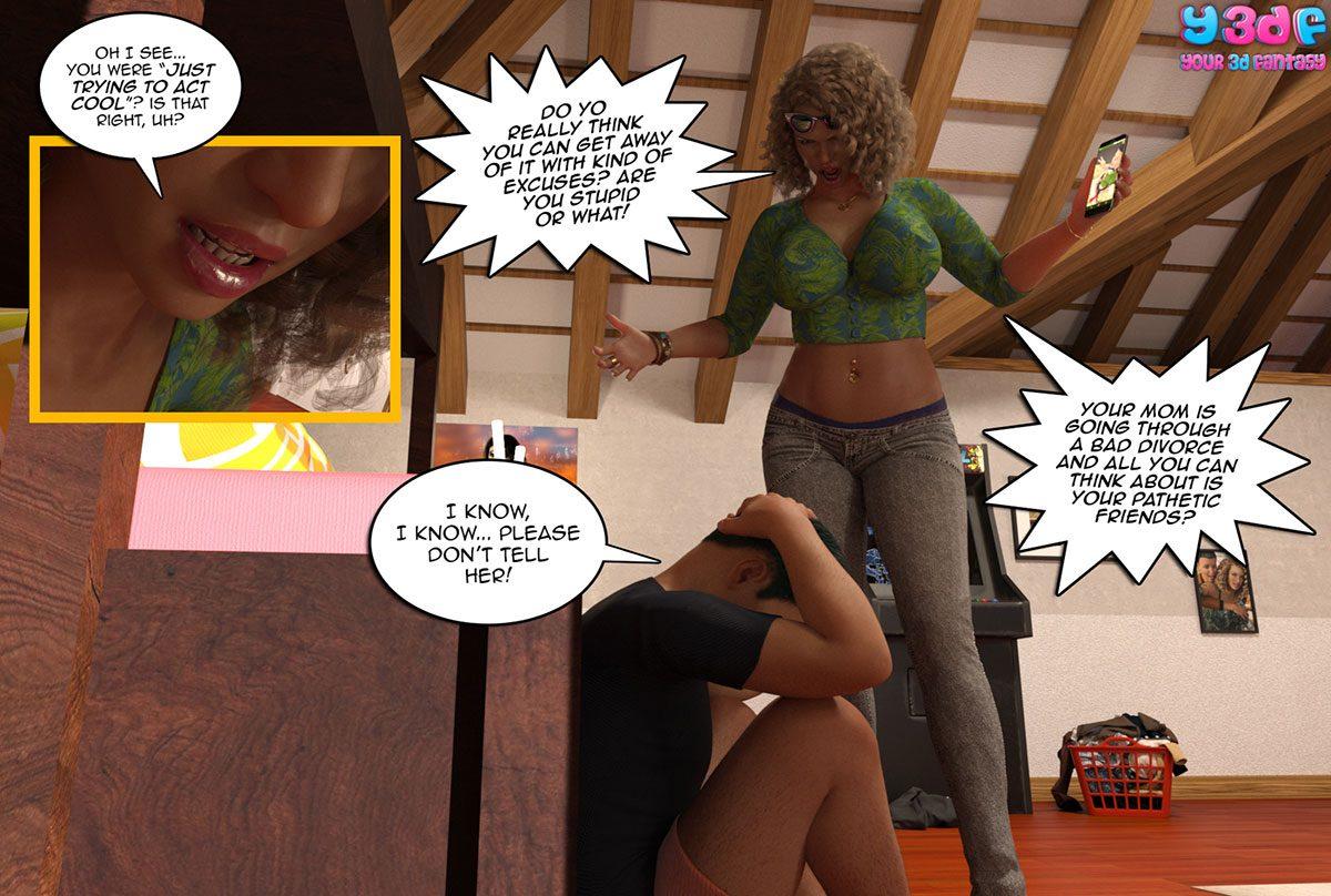 "Y3DF comic ""Prove Thy Self"" - page 53"