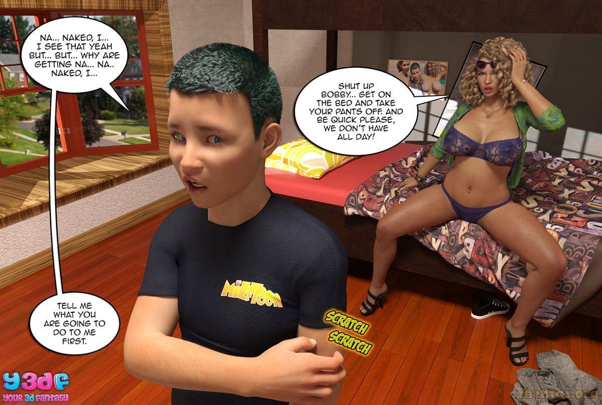 "Y3DF comic ""Prove Thy Self"" - page 58"