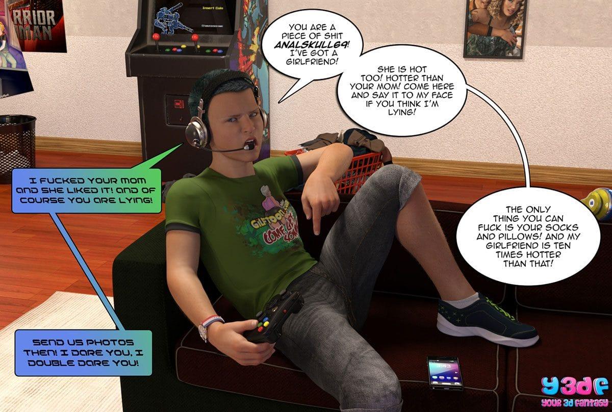 "Y3DF comic ""Prove Thy Self"" - page 7"