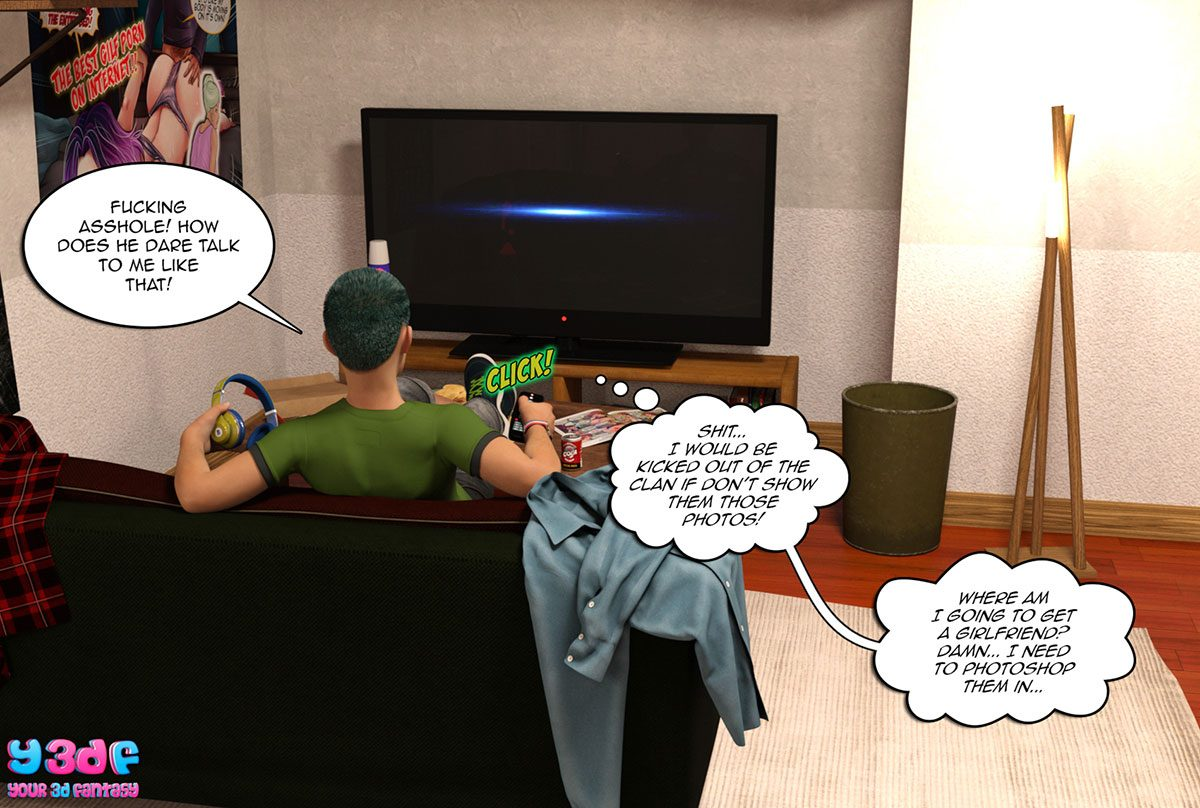 "Y3DF comic ""Prove Thy Self"" - page 9"