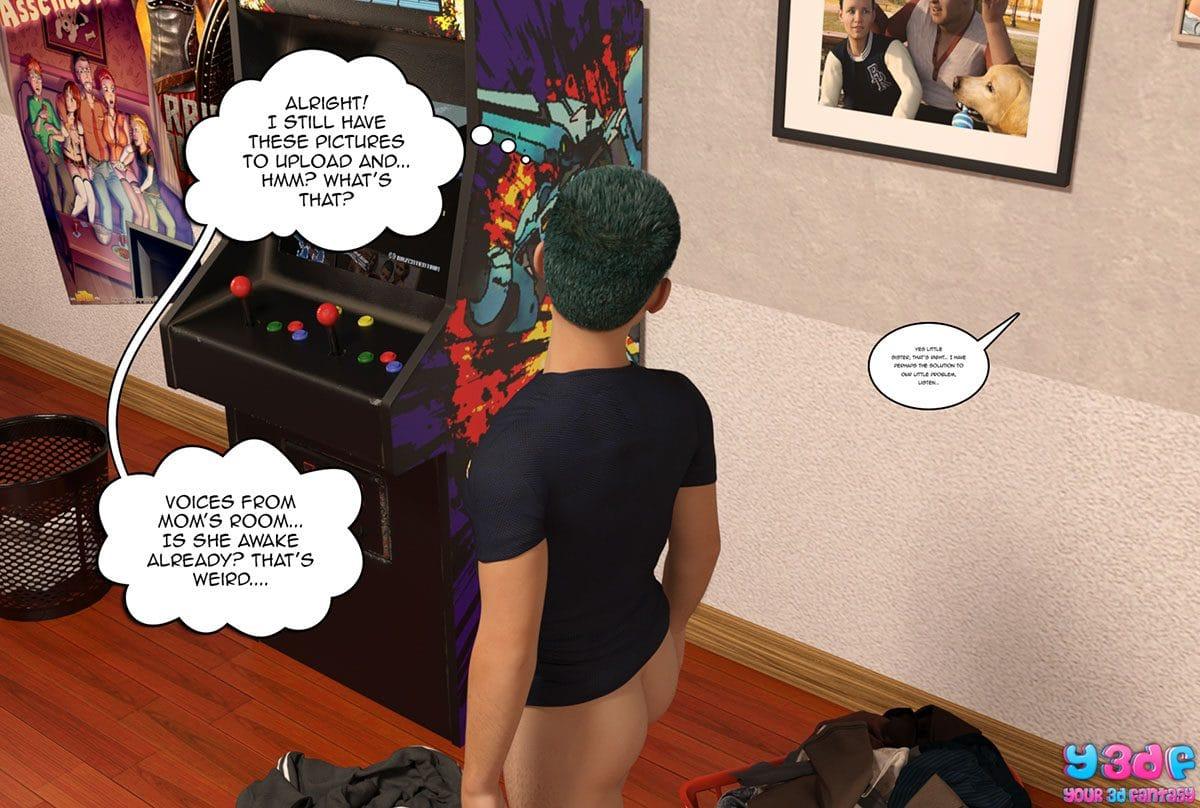"Y3DF comic ""Prove Thy Self"" - page 93"