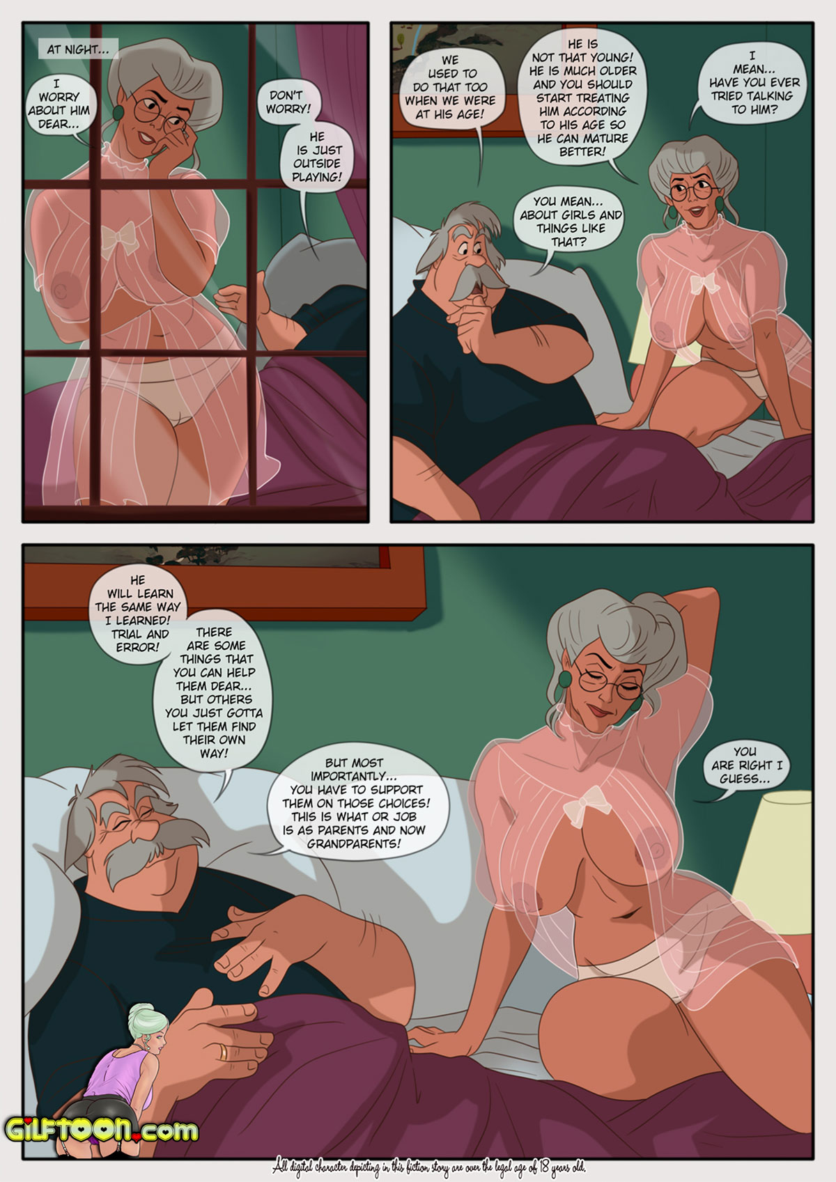 "Porn comic ""Lunch Time 2"" - page 12"